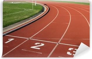Fototapet av Vinyl Athlectics Track Lane Numbers