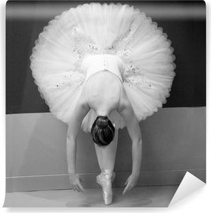 Fototapet av Vinyl Balettdansös