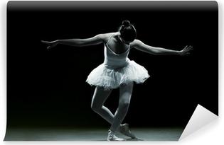 Balletdanser-action Vinyl fototapet