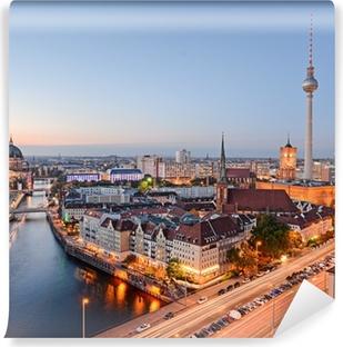 Blick über Berlin Vinyl fototapet