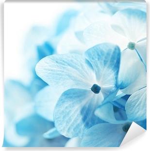 Blomster baggrund Vinyl fototapet