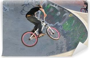Fototapet av Vinyl BMX cykel