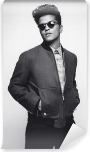 Bruno Mars Vinyl fototapet