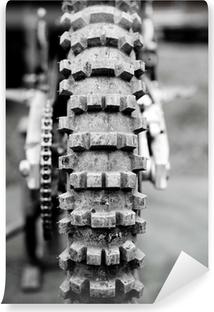 Championnat motocross 6 Vinyl fototapet