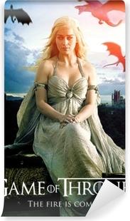 Daenerys Targaryen Vinyl fototapet