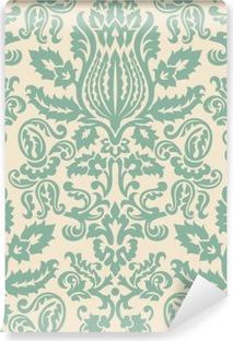 Fototapet av Vinyl Damask Wallpaper Pattern