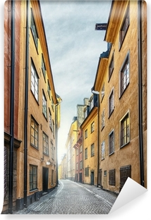 Den Gamle By i Stockholm Vinyl fototapet