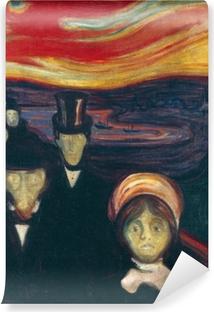 Edvard Munch - Angst Vinyl fototapet