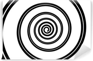 Fototapet av Vinyl Espiral negro