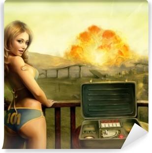 Fototapet av Vinyl Fallout