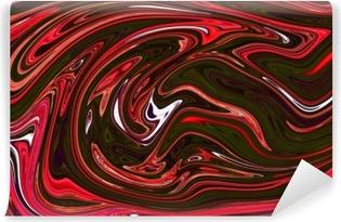 Fototapet av Vinyl Färgglad indisk stil marmor bakgrund. marmoreringstekstdesign. abstrakt bakgrund. stock. oljemålning stil. akvarell handritning. bra för bakgrundsbilder, affischer, kort, inbjudningar, webbplatser.
