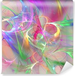 Farverig abstrakt baggrund Vinyl Fototapet