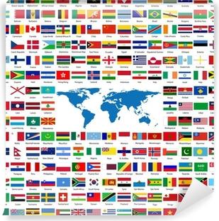 flagor i hela världen