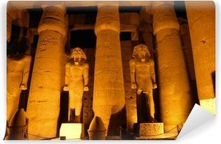 Fototapet av Vinyl Giant kolumner av forntida egyptisk stad Luksor