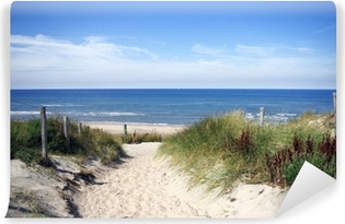 Fototapet av Vinyl Gränd till stranden