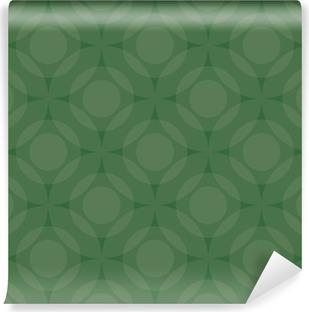 Fototapet av Vinyl Grön färgcirkeln bakgrund, Vector av EPS10
