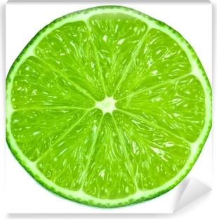 Fototapet av Vinyl Gröna limefrukter
