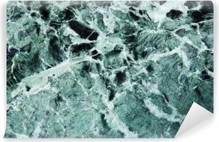 Grüner Marmor Vinyl fototapet