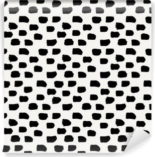 Fototapet av vinyl Hånd tegnet abstrakt sømløs mønster