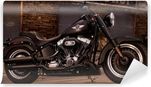 Fototapet av Vinyl Harley Davidson