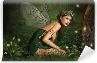 Fototapet av Vinyl I Fairy Forest
