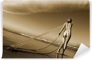 Fototapet av Vinyl Konstnärlig naken