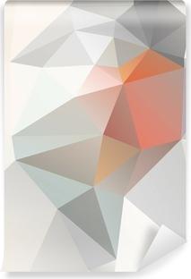 Lys Geometrisk baggrund vektor eps 10 Vinyl Fototapet