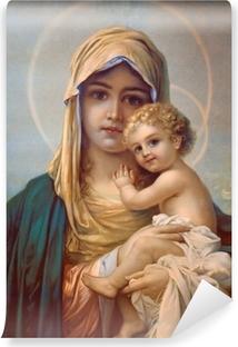 Fototapet av Vinyl Madonna - Guds moder