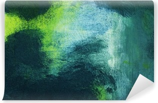 Fototapet av Vinyl Makro av målningen, färgrik abstrakt