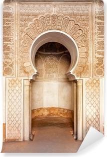 Fototapet av Vinyl Marrakech madrasah prydnad