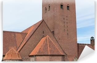 Fototapet av Vinyl Masthuggskyrkan kyrka på Göteborg i Sverige