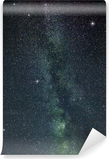 Fototapet av vinyl Melkeformet måte stjerner