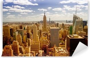 New York skyline Vinyl fototapet
