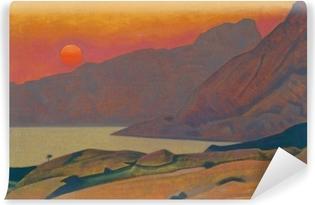 Nicholas Roerich - Monhegan. Maine Vinyl fototapet