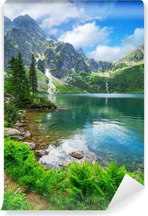 Øje af Sø Sø i Tatra bjergene, Polen Vinyl fototapet