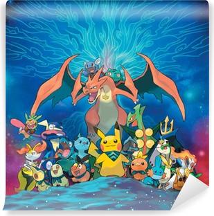 Fototapet av Vinyl Pokémon