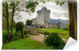 Fototapet av Vinyl Ross slott nära Killarney, Co. Kerry Irland