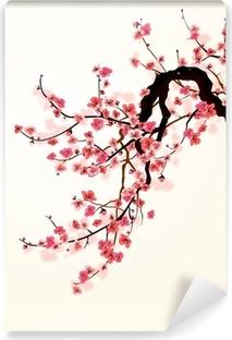 Fototapet av Vinyl Sakura