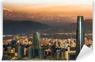 Fototapet av Vinyl Santiago de Chile