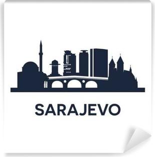 Fototapet av Vinyl Sarajevo Emblem