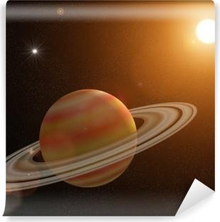 Saturn Vinyl fototapet