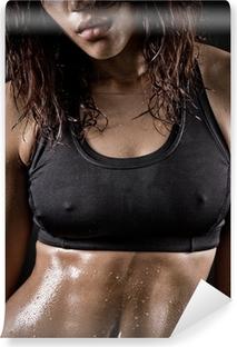 Fototapet av Vinyl Sexig fitness