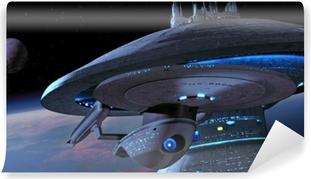 Fototapet av Vinyl Ship from Star Trek