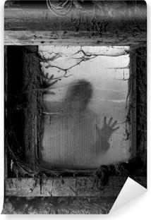 Fototapet av Vinyl Skrämmande halloween bakgrund