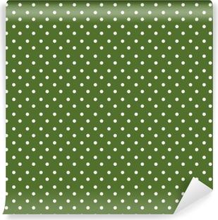 Fototapet av Vinyl Sömlösa prickar mönster bakgrund
