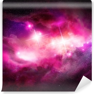 Fototapet av Vinyl Space Nebula - Interstellar molnet