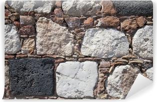 ff603ef61 Fototapet Tynn stein mur • Pixers® - Vi lever for forandring
