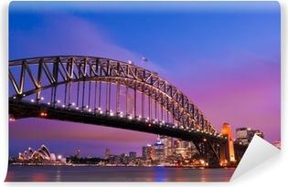 Sydney habour bridge - sydney city Vinyl Fototapet