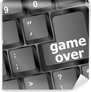 Dekor Tangentbord med game over nyckel - teknik bakgrund • Pixers ... 501e6659103b5
