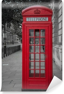 Fototapet av Vinyl Telefon monter i London